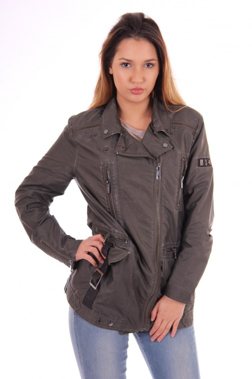 Nickelson Keylie jacket in army