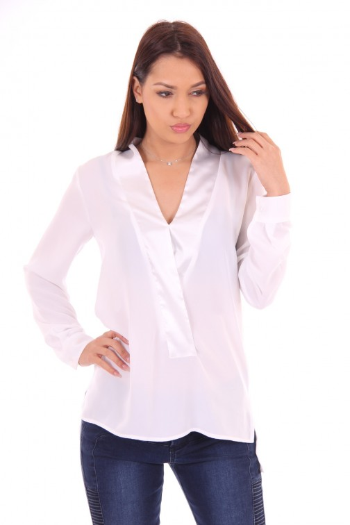 G.sel tunic Dollar in white