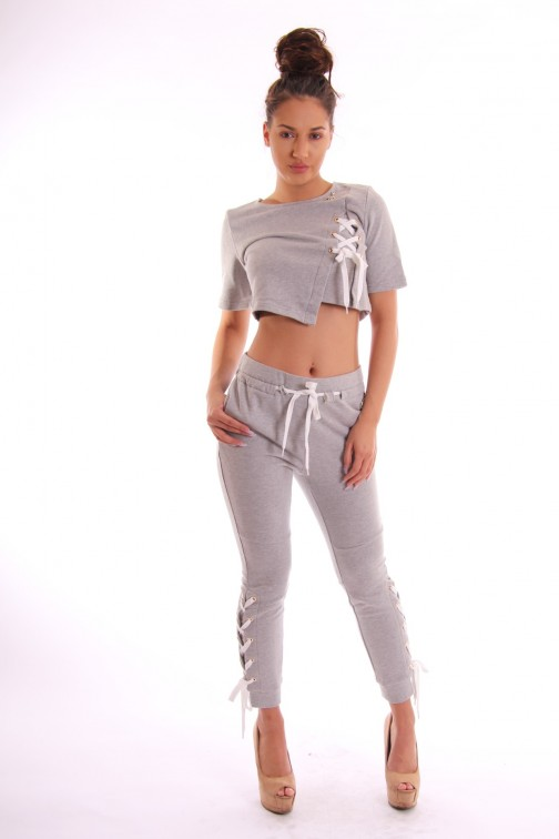 Relish Natasja sweatpants met veter