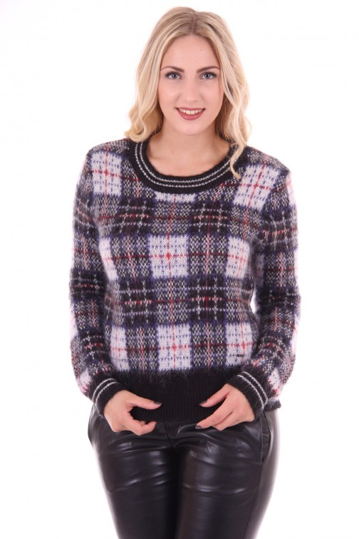 Gaudi check sweater