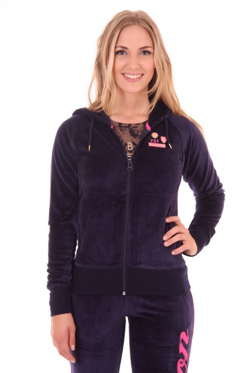 Nickelson sweat jacket in Navy: CARLY