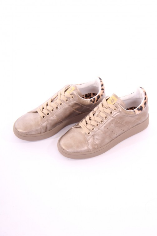 Glamorous sneakers Enif in gold