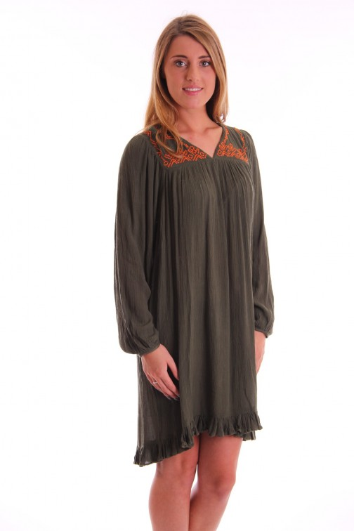 Labee Boby dress in army