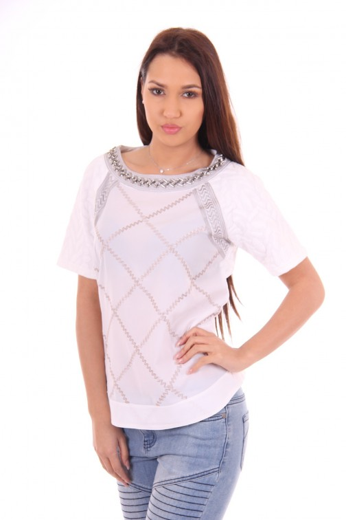 Relish fashion Hula top silver details