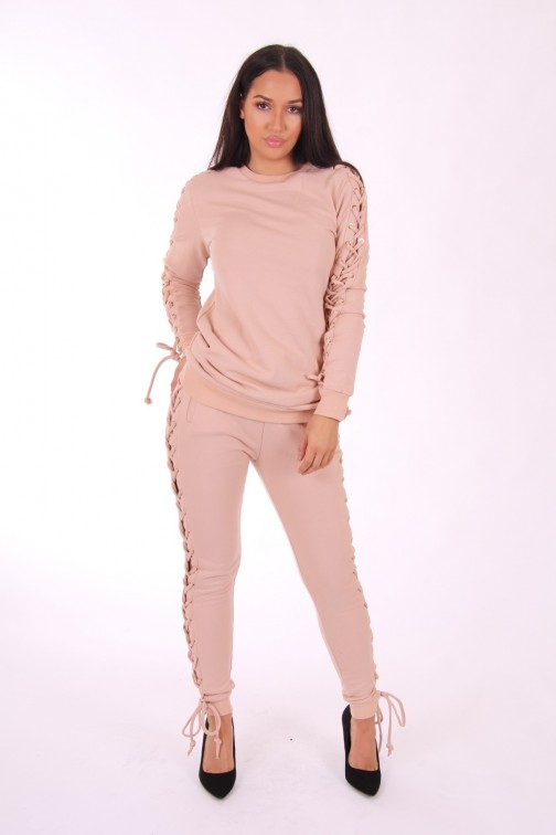 Josh V Kenna sweaterdress in dusty pink