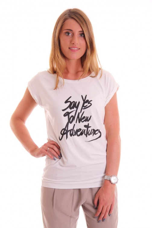 Supertrash Twisty Advertures t-shirt in white