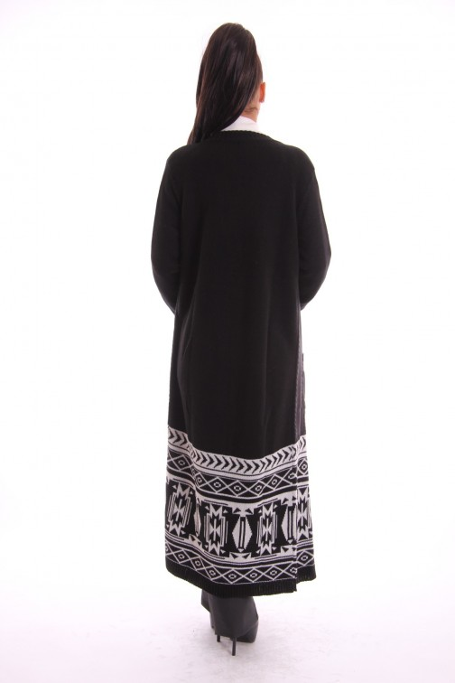 Jacky Luxury cardigan in black & white