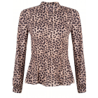 Jacky Luxury JLFW19058 Leopard turtleneck