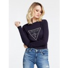 Guess W01R92Z2760 Naomi jumper in navy