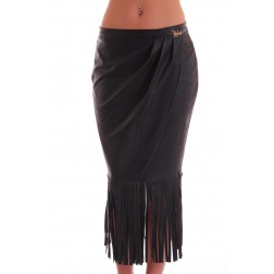 Relish Gerry skirt with fringes