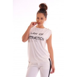 Supertrash Taury top; LAW OF ATRACTION