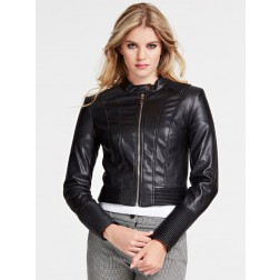 Guess Cynthia jacket in eco leather